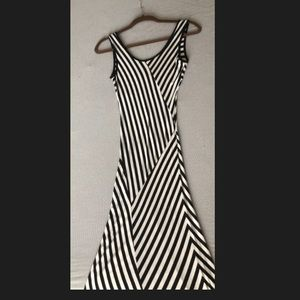 Striped Maxi Dress size S